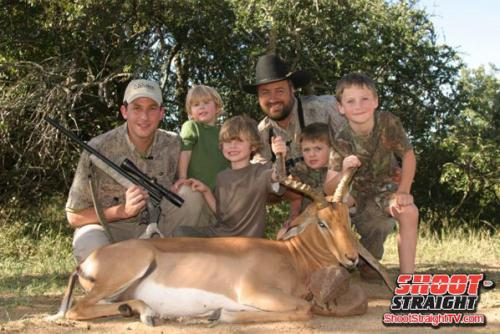 Africa hunting shoot straight tv