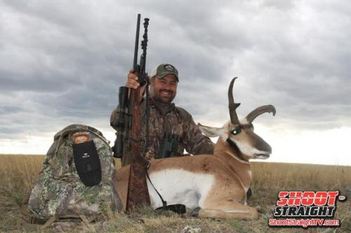 Antelope hunting shoot straight tv