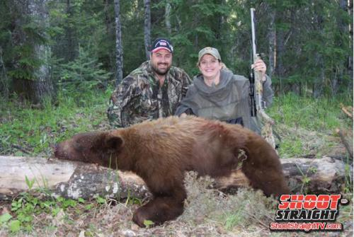 Bear hunting shoot straight tv