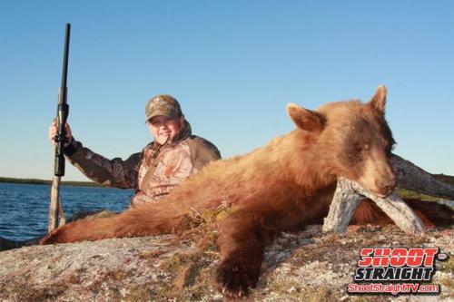 Bear hunting shoot straight tv