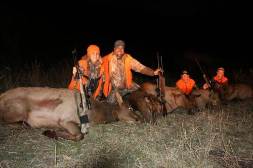 Elk hunting shoot straight tv